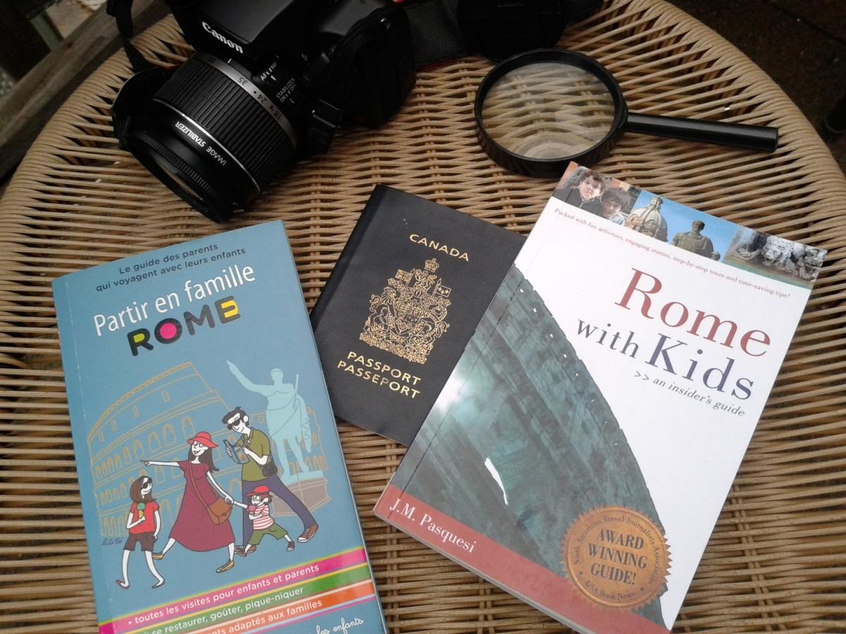 Voyager à Rome avec les enfants: quel guide choisir?
