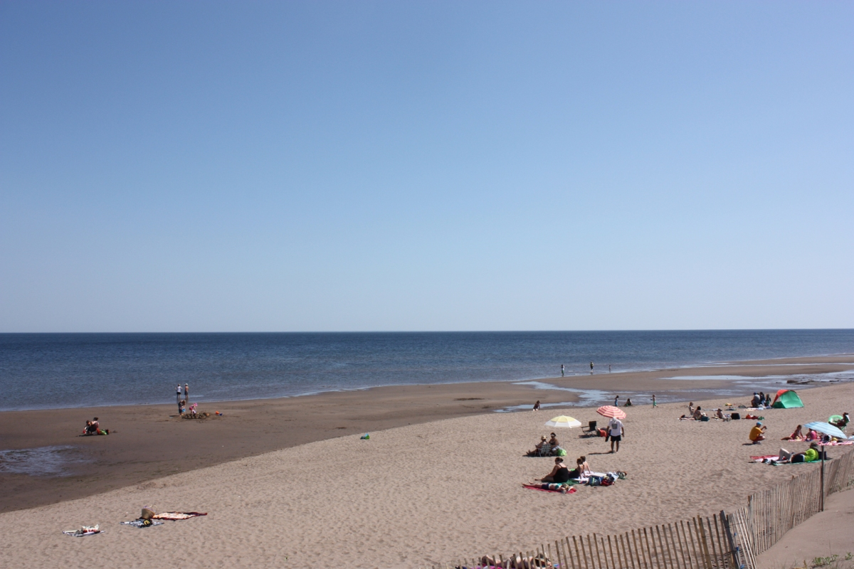 Chalet, dunes et clams frites à Cap-Pelé