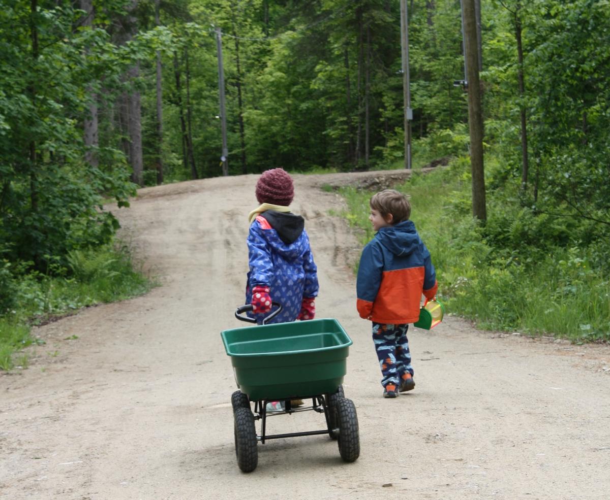 Camping de luxe, bisons et wapitis dans Lanaudière